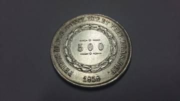500 Reis Brasil 1858 WHYgX