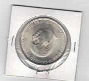 manchas en la moneda de 100 pesetas de plata de Franco UBfWL